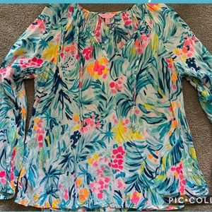 NWOT LILLY PULITZER WILLA TOP